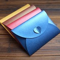 Creative Noble Love Heart Pearl Paper Envelope Kraft Envelope/Wedding Envelope/gift/wholesale,Stationary,200Pcs/lot