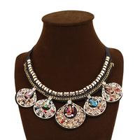 New Colgantes Mujer Women Jewelry Bohemian Choker Necklace Colares Femininos Christmas Gift