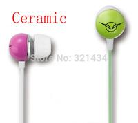 Ceramic 3.5mm Stereo Bass earphone headset headphone for Mobile iphone Xiaomi Samsung HTC iPod MP3 MP4 PC notebook desktop  IV-1