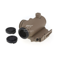 JJ Airsoft T1 / T-1 Red Dot with killflash / Kill Flash , BOBRO Style QD Low Mount (Tan) FREE SHIPPING
