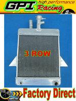 3 ROW  aluminum alloy radiator for Triumph GT6 1966-1973 1967 1968 1969 1970 1971 1972