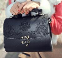 Carve Pattern Design Female Shoulder Bag Tide Restoring Ancient Fashion PU Leather Women Handbag lady messenger Bag 2015HOT SALE