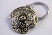FREE SHIPPING DOTA2 DOTA 2 Aegis of the Immortal Figure Toy Keychain Ornaments(China (Mainland))