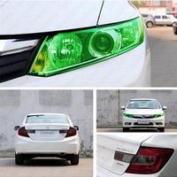 9 Colors 30CMX100CM Auto Car Light Headlight Taillight Tint Styling detector Waterproof Vinyl Film Sticker CZ6036