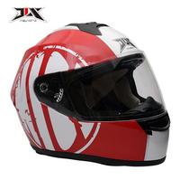 JIX,FF006,Full Face Helmet,Antimist- Lenses,Removable&Wahsable Liner,DOT Certificate
