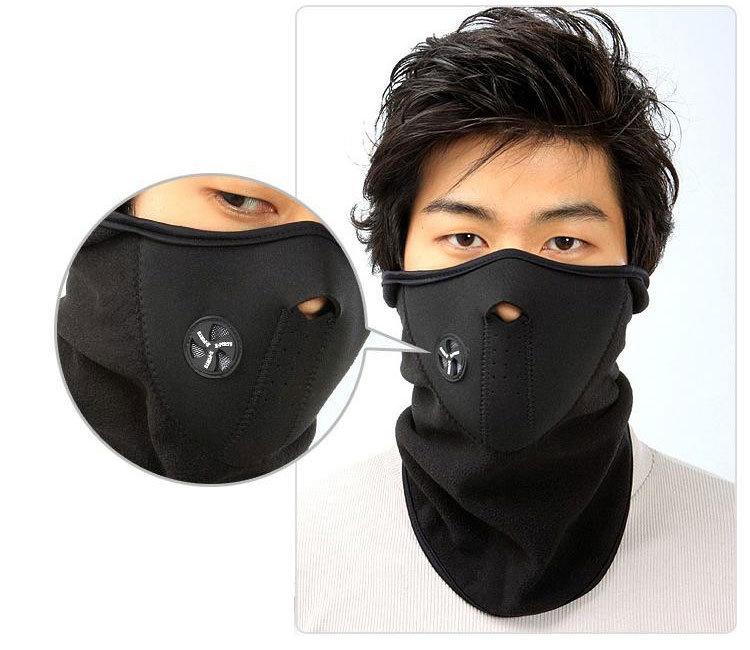 I0000117 Motorcycle Bicyle Bike Fleece Face Mask Sports Winter Warm Hats Cap Ski Snowboard Wind Hood Thermal Balaclavas Scarf(China (Mainland))