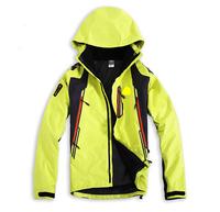 2014 Free shipping Mens Jackets Mens Outdoor triple three adhesive two-piece ski suit windproof waterproof warm Fleece