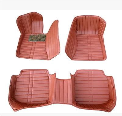 customize car floor mats leather foot mat rugs set auto carpet passat jetta touareg touran touguan polo golf 6/7 phaeton beetle(China (Mainland))
