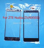 "Original  5.0"" Digitizer Touch Screen Glass For ZTE Nubia Z5 NX501 Black"
