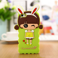 Lovely soft Silicone Case Skin Back Cover for iPhone 5 5s Mobile Phone Case for iPhone 5S 5G free shipping