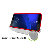 Magnetic Desktop Charging Dock Cradle Charger For Sony Xperia Z3-White