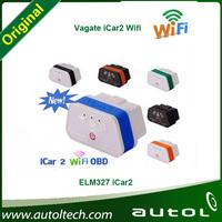 Colorful Vgate Icar 2 Wifi Elm327 ELM 327 OBD II Car Diagnostic Interface Support PC/Android/IOS OBD2 Icar2 ELM327 WI-FI Version