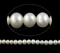 Jewelry Potato Cultured natural Freshwater Pearl Beads white AA Grade, 5-6mm, Hole:Approx 0.8mm Sold Per Approx 15 Inch Strand