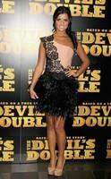 Vestids De Festa 2014 One Shoulder Lucy Mecklenburgh Lace Top & Black Feather Evening Party Cocktail Dress