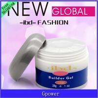 1pcs clean Acrylic Nail Art UV nail Gel saloon profesional nail art IBD Builder Gel 2oz / 56g nails tools free shipping