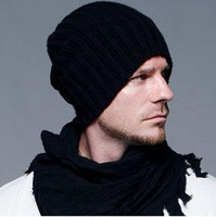 2015 New Beckham Style Knitted Wool Cap For Man And Women  Stylish Winter Caps Wool Cap Wholesale Sport Beanies B373