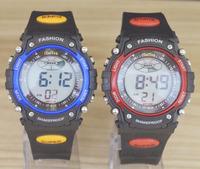 Children's Boy Girl Students LED Electronic Multifunctional 30m Waterproof Swim Digital Sport Rubber Wrist Watches IT-812