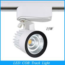 2015 Wholesale Retail 15W COB Led Track Light,Spot Wall Lamp,Soptlight Tracking led AC85-265V Noverty light New Arrival(China (Mainland))