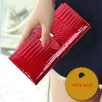Fashion Large Zip wallet garantee 100% cow leather New Large Zip wallet  business casual wallet Portemonnaie portefeuille