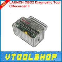 Top 2014 Super Performance 100% Original LAUNCH OBD2 II Diagnostic Tool Launch CRecorder II Support Free shipping