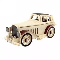 DIY Woodcraft 3D Wooden Puzzle Jigsaw Wood model building kits toys for Kids Art & Kraft Toys for Children
