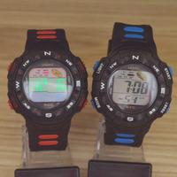 Children's Boy Girl Students LED Electronic Multifunctional 30m Waterproof Swim Digital Sport Wrist Watches LASIKA W-F72
