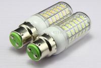 5pcs/lot B22 E14 E27 G9 GU10 12W 108 SMD 3528 LED White / Warm White 1150lumen Corn Light Bulb Lamp 110V 120V 220V 230V A217