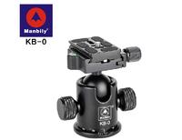 MANBILY KB-0 Professional Tripod heads,Universal ball head with Fast mounting plate,Camera tripod head for Canon Eos Nikon DSLR
