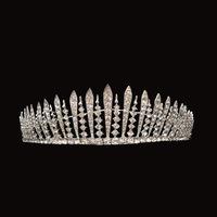 Free shipping 2014 new arrival LUXURY crystal hair tiara wedding hair jewelry rhinestone crown Vintage hair accessories XB51