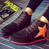 Women's fashion sneakers flat heels tenis feminino  winter spring autumn sapatos femininos ankle zapatos mujer  big size star  4