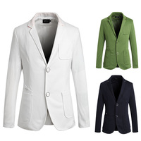 2014 new arrival men's Leisure suit Single-breasted outwear men's coat  three color four size M-XXL free shipping PK07
