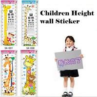 5pcs Children baby Growing up height wall stickers Cartoon frozen kids wall sticker home decor decoration sticker Free shipping