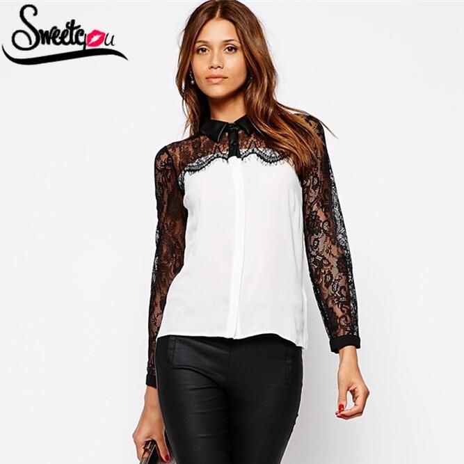 Женские блузки и Рубашки Sweetyou blusas femininas 2015 7019 женские блузки и рубашки blusas femininas 2015