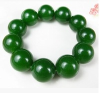New nature spinach green hetian jade green jadeite jade bracelet completely