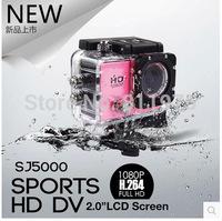 Action Camera Full HD DVR Sport DV Original SJ5000 1080P Helmet 30M Waterproof Camera Motor Mini DV 2 inches screen