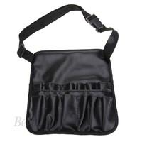 Cheap Cosmetic Case Bag Black Professional Artist Essential Makeup Brush Belt Pocket Makeup Purse Cosmetic Bag SV18 SV011164