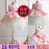 Girls wedding dresses chilren ball gown female child clothings girl princess dress