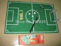 Free Shipping 1Set Toilet Football Toilet Soccer Football Game Sport Toys Set with Mini balls & Floor Mat with Retail Box