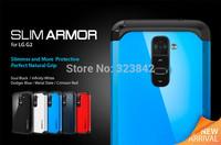 Tough Slim Armor Case For LG Optimus G2 D802 D801 Phone Cases Back Cover FJX free shipping