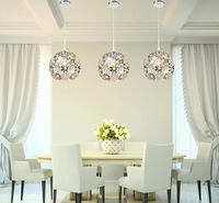Elegant Fashion Exquisite Lace Environmentally Friendly Aluminum Chandelier Modern Minimalist Lving Room Dining  Pendant Lamp