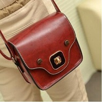 2014 new retro handbag shoulder bag Messenger packet phone package College wave packet female pig
