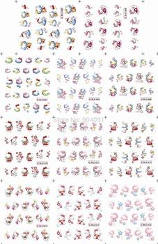 Горячая япония мультфильм 1 компл. ( 11 конструкций в 1 компл. ) BLE1665-1675 кетти ...