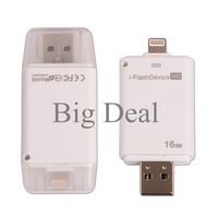 Data Interface I-Flash Drive Micro SD U Disk Card Reader For iPhone 5 5S 6 4.7 Plus 5.5 For Ipad Ipod Iphone
