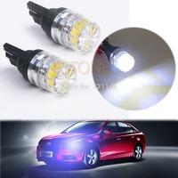 J34 Free Shipping 10pcs/lot White T10 5050 LED Car Vehicle Side Tail Lights Bulbs Lamp NEW