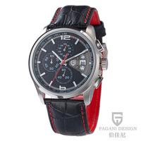 2014 Pagani Design 3306 men wristwatch military sports quartz watches Men Luxury Brand Digital genuine leather relogio masculino