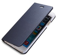 30pcs/lot,High quality 11colors  Luxury Retro Flip brushed Wallet Leather Case for Samsung Galaxy Note 4 .for iphone6