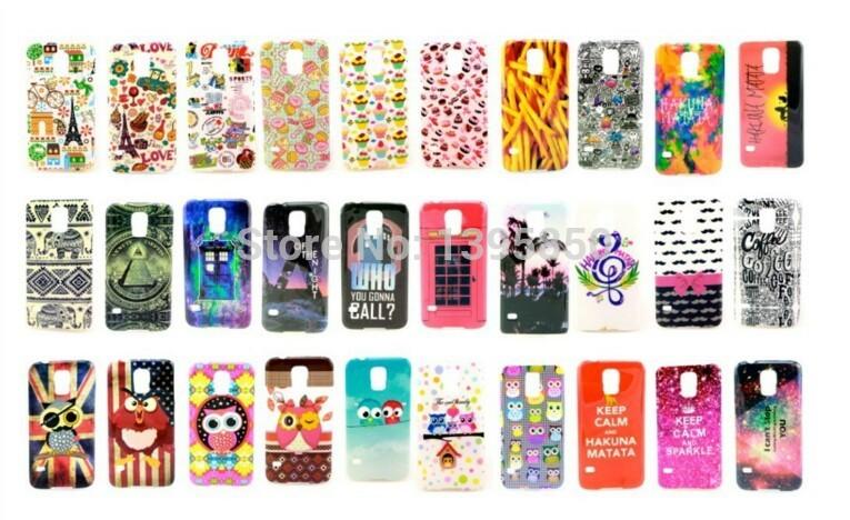Чехол для для мобильных телефонов DIY 50pcs/lot, Samsung S5 i9600  For Samsung galasy S5 i9600 держатель для мобильных телефонов samsung s5 i9600