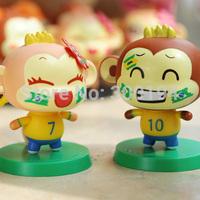 Car Collector's Edition doll cute cartoon car ornaments Bobblehead doll ornaments automotive decoration supplies