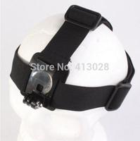 Adjustable Headband Accessory Mount Head Belt/ Helmet Strap for GoPro Hero 1 2 3 4 3+ Camera Skiing, cycling,rowing sport 100pcs