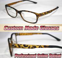 vogue Leopard frame shopping party Optical Custom made optical lenses Reading glasses +1 +1.5 +2+2.5 +3 +3.5 +4 +4.5 +5 +5.5+6